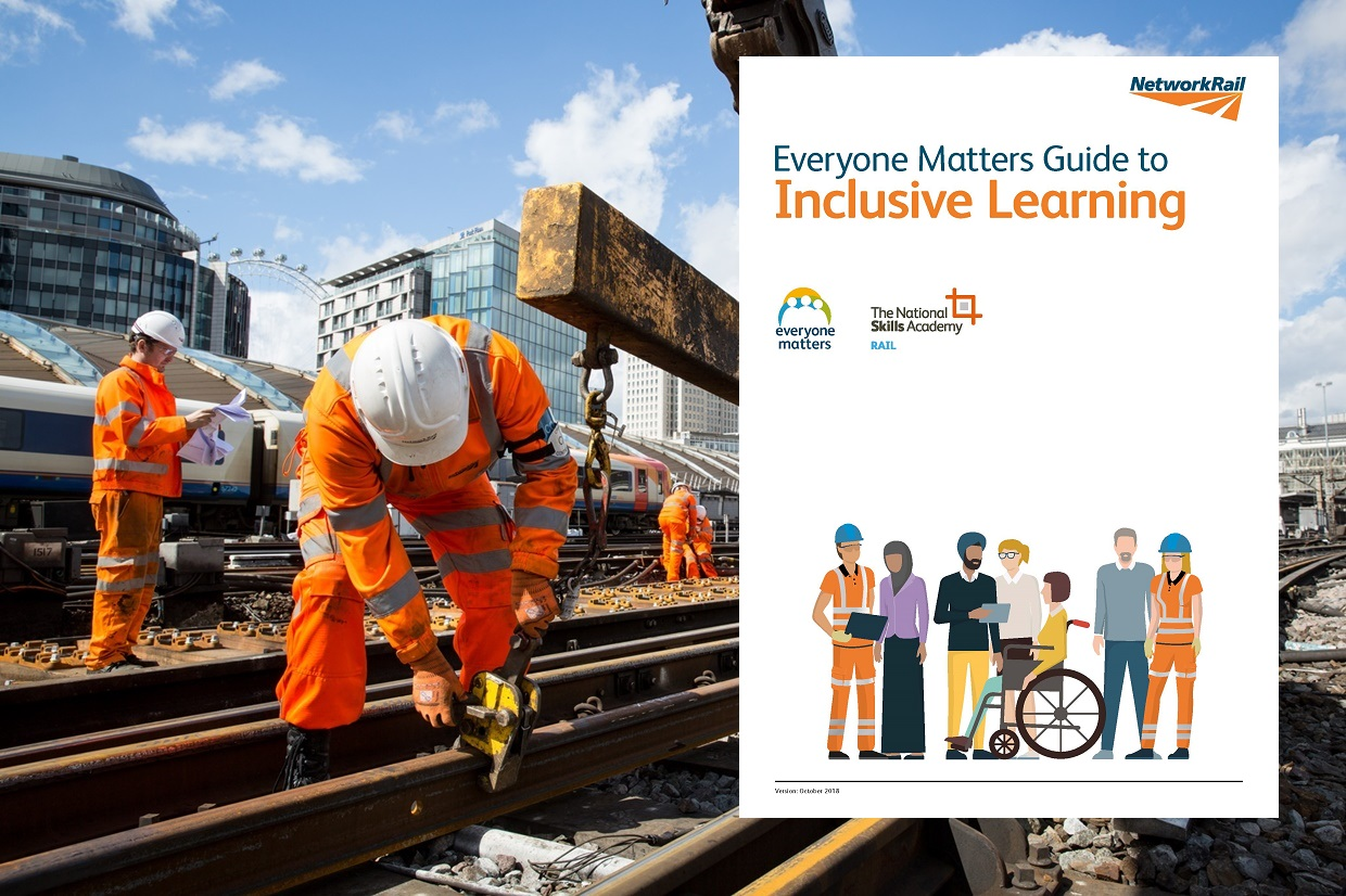 """Network Rail releases """"Everyone Matters Guide to Inclusive Learning"""""""