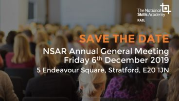 SAVE THE DATE: NSAR AGM – Friday 6th December 2019 (Members only)