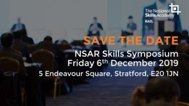 SAVE THE DATE: NSAR Skills Symposium 2019 – Friday 6th December 2019, London