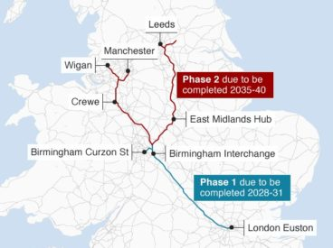 Government issues formal notice to Proceed with HS2