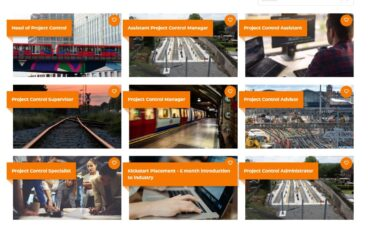 Interested in a Project Control career within rail?
